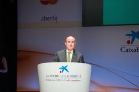 El ministro de Economía y Competitividad, Luis de Guindos, fue el encargado de clausurar una velada en la que predominaron los mensajes positivos