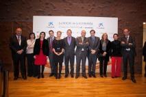 Foto de familia de los miembros del jurado de los IV Premios de 'elEconomista'.