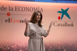 La periodista Ana Samboal, presentadora de la gala de la séptima edición de 'La Noche de la Economía'.
