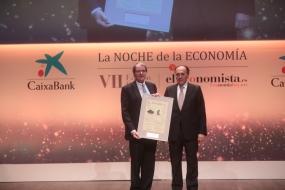 Francisco Belil, vicepresidente de la Fundación Bertelsmann, y Gregorio Peña, vicepresidente de Editorial Ecoprensa.