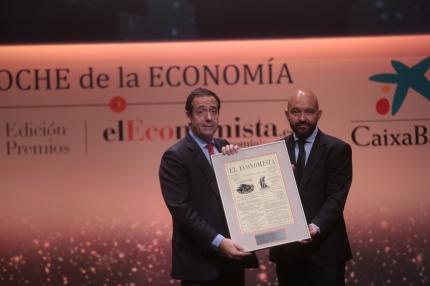 Gonzalo Gortázar, consejero delegado de CaixaBank, y Jaime García-Legaz, presidente de Aena.