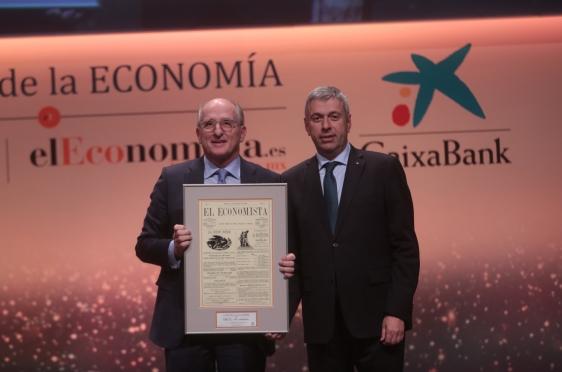 Antonio Brufau, presidente de Repsol, y José Luis Perelli, presidente de EY.