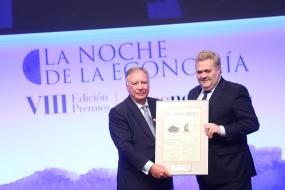 Clemente González Soler, de Grupo Alibérico, y José Luis Gil, de Naturgy