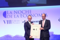 Ricardo Rivero, de la Universidad de Salamanca, y José Luis González-Besada, de El Corte Inglés