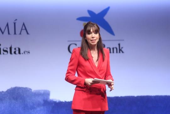 Laura de la Quintana, periodista de elEconomista y presentadora de la Gala