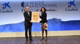 A. Sánchez Tabernero, rector de la Universidad de Navarra y Esther Uriol, directora de Comunicación Corporativa de El Corte Inglés