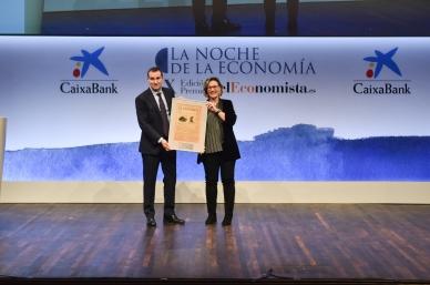 Toni Ruiz, CFO de Mango y Paz Noriega, gerente de Comunicación Corporativa de Telefónica