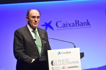 Ignacio Galán, presidente y consejero delegado de Iberdrola tras recibir el premio Alfonso de Salas a la Personalidad Económica del año