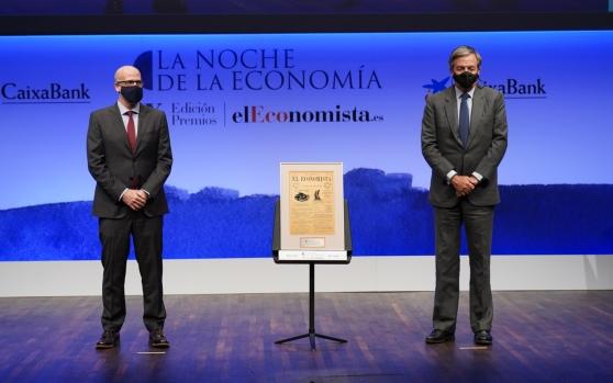 Daniel Villanueva, vicepresidente ejecutivo de la Fundación Entreculturas y Jorge Villavecchia, Damm